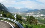 Trento ze stoupání na Monte Bondone
