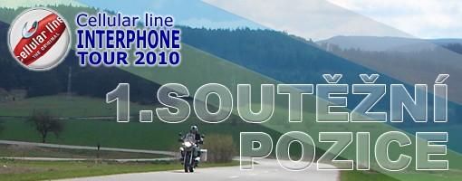 Interphone tour 2010 - první soutìžní pozice