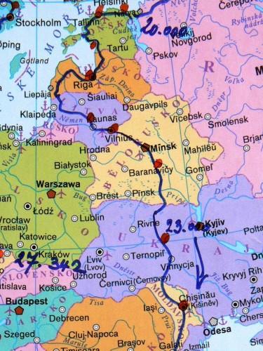 Na motorce kolem Evropy èást V.