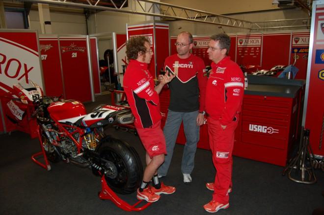Althea Ducati si stìžuje na reglement superbikù