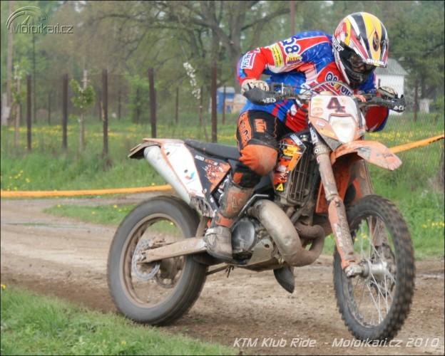Pátý KTM Klub Ride v Hoøicích