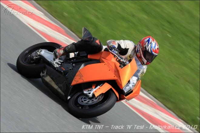 KTM TNT – Track 'N' Test na Sachsenringu