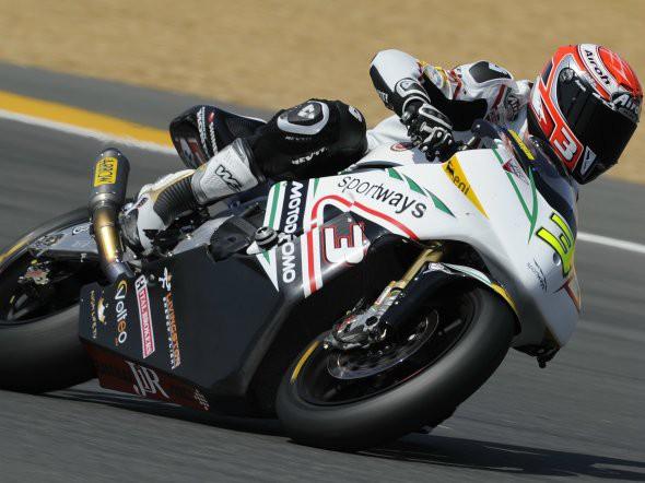 Moto2: Pøekvapivì nejlepším Italem je Simone Corsi