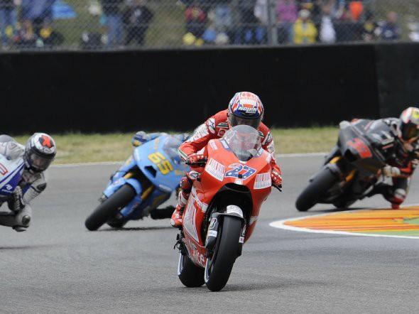 Jezdci MotoGP pøed Mugellem