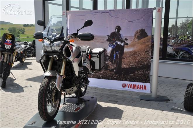 Písecké pøedstavení Yamahy XTZ1200A Super Ténéré