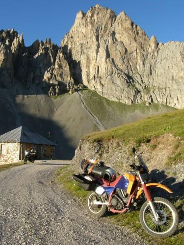 Válení v Alpách