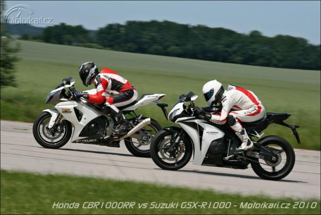 Honda CBR1000RR vs Suzuki GSX-R1000