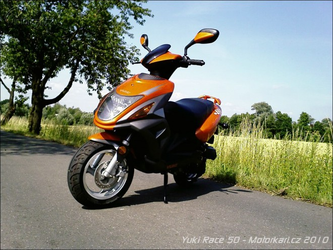Yuki Race 50 - zkušenosti s moto