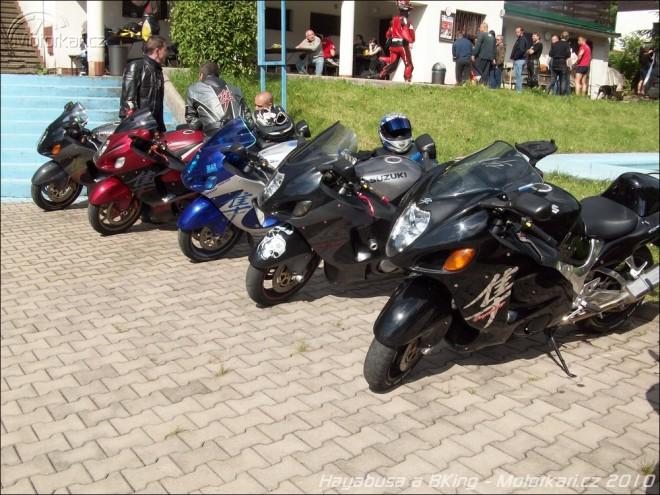 Hayabusa a BKing sraz Dobré 2010