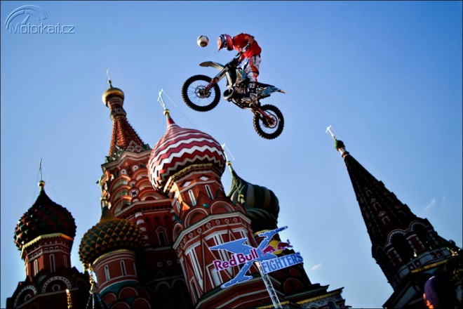 FMX na Rud�m n�m�st� p�ed Kremlem