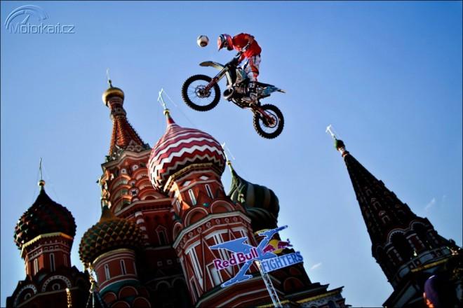 FMX na Rudém námìstí pøed Kremlem