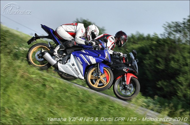 Yamaha YZF-R125 vs Derbi GPR 125