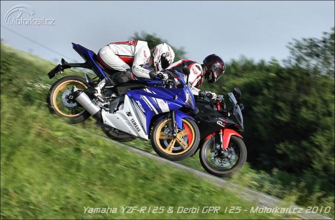 Yamaha YZF-R125 vs Derbi GPR 125