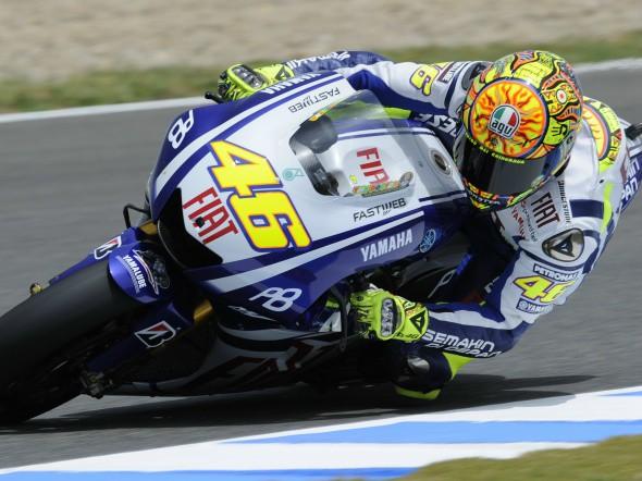 Valentino Rossi bude zítra testovat v Brnì
