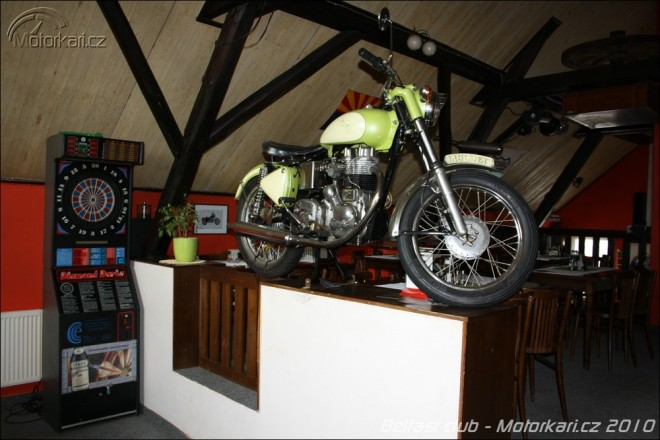 Motorkáøská restaurace Belfast