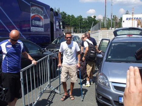 Rossi pojede v Nìmecku