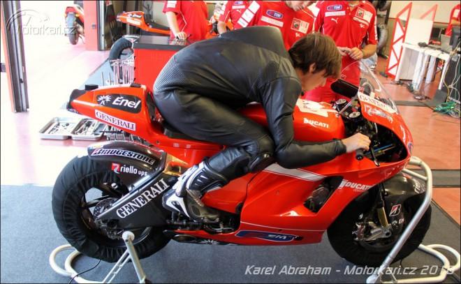Abraham: Pojede historicky první Èech závody MotoGP v roce 2011?