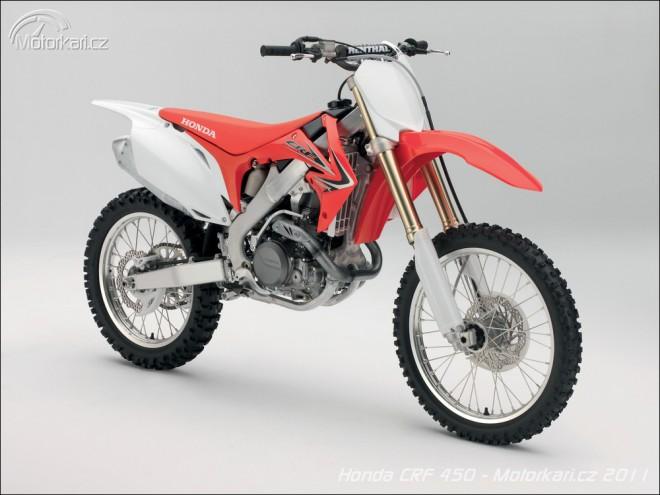 Honda CRF450 a CRF250 2011