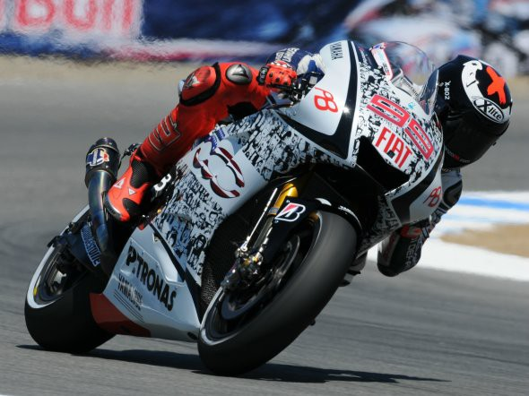 GP Laguna Seca - warm up