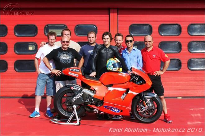 Karel Abraham pojede v roce 2011 MotoGP!
