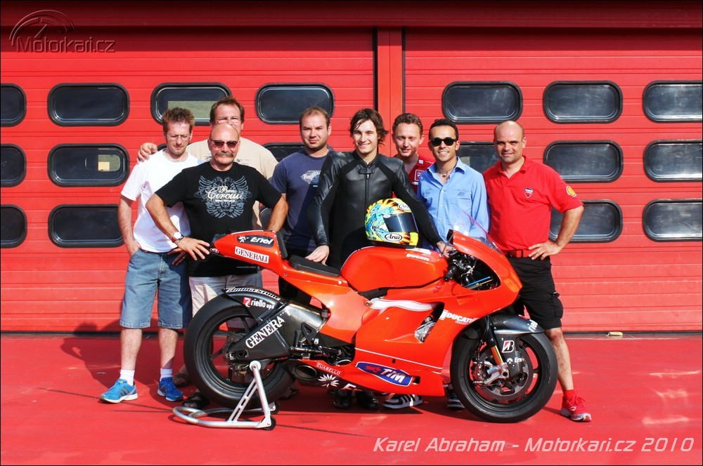 Ducati 2011 Motogp. pojede v roce 2011 MotoGP!