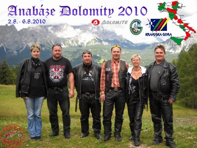 Italské Dolomity, Rakouský GrossGlockner, Slovinská Kranjska Gora
