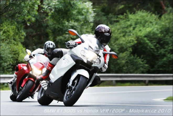 BMW K1300S vs. Honda VFR1200F