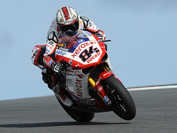 Ducati potvrdila v Brnì své setrvání ve WSBK