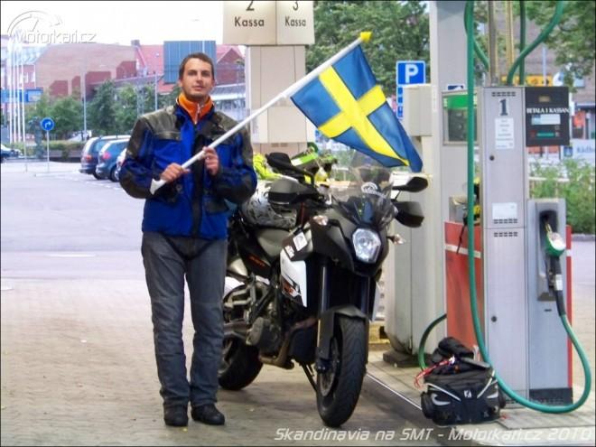 Skandin�vie na KTM 990 SMT