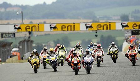 Provizorní startovní rošt MotoGP na rok 2011