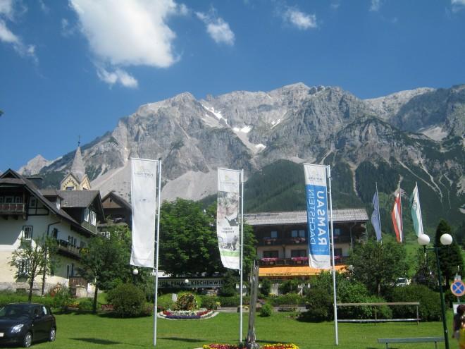 Padesátka v Alpách