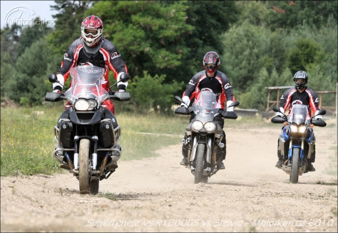 BMW R1200GS vs Moto Guzzi Stelvio vs Yamaha SuperTenere