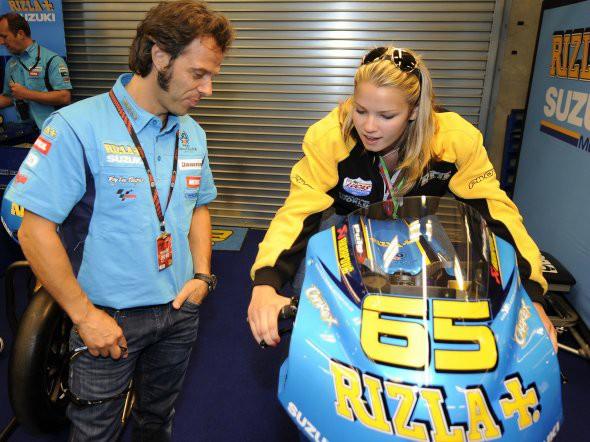 Elena Myers: Nejdøíve Moto2, pak teprve MotoGP
