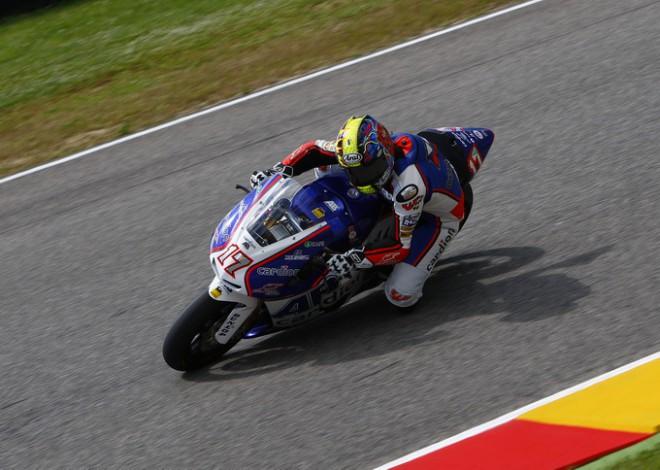 Karel Abraham FP1 v Indy nedokon�il