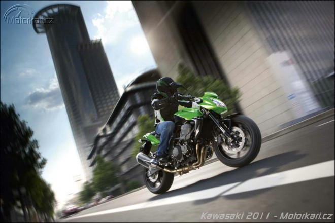 Kawasaki chyst� novou Z750R, ZX-10R a W800