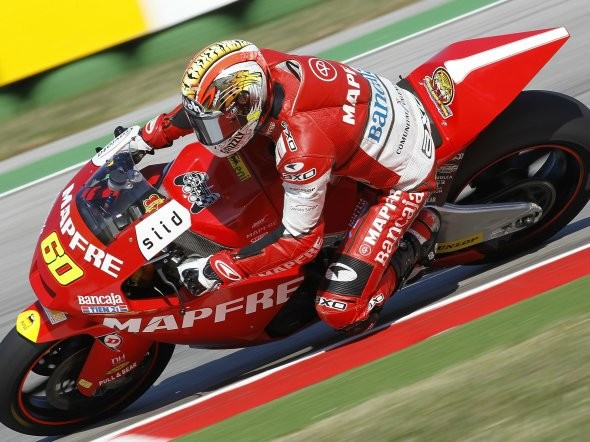 Test Moto2 ve Valencii