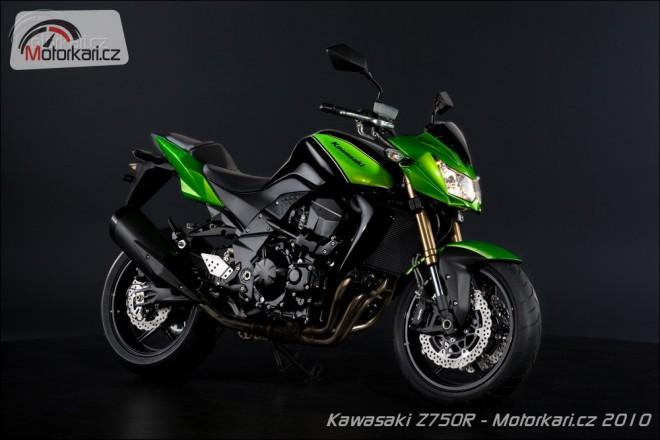 Nová Kawasaki Z750R