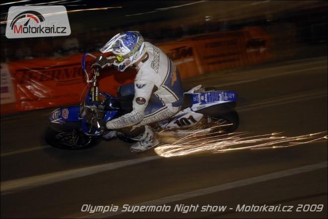 Pozvánka na Olympia Supermoto Night Show
