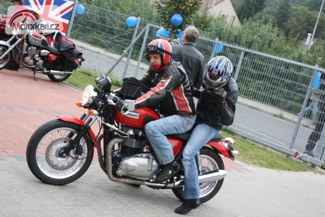 Sraz motocyklù Triumph
