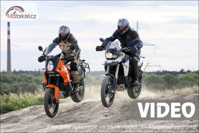 KTM 990 Adventure vs. BMW F 800 GS