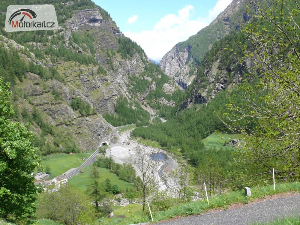 2010, trasa : visp – martigny- col de forclaz- chamonix