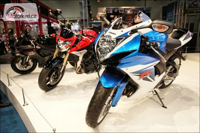 Intermot 2010: Suzuki