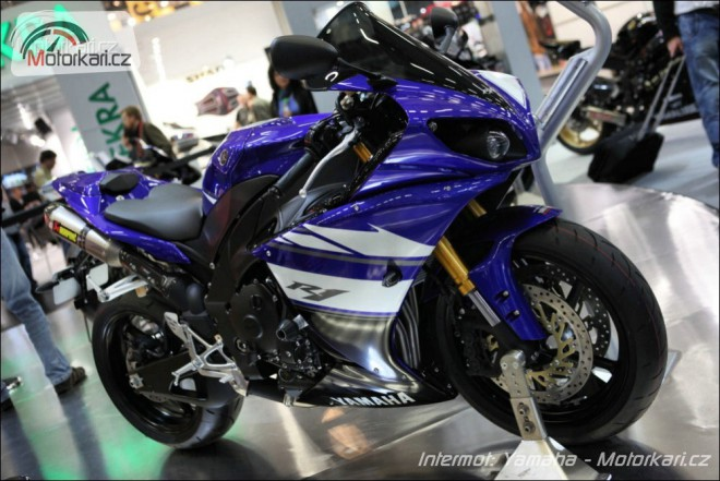 Intermot 2010: Yamaha