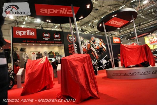 Intermot 2010: Aprilia
