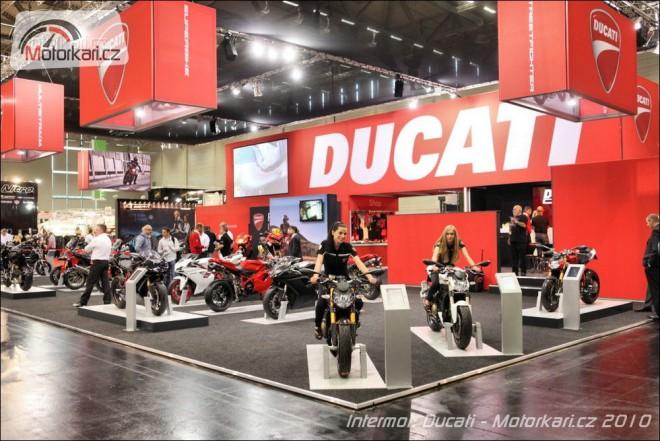 Intermot 2010: Ducati