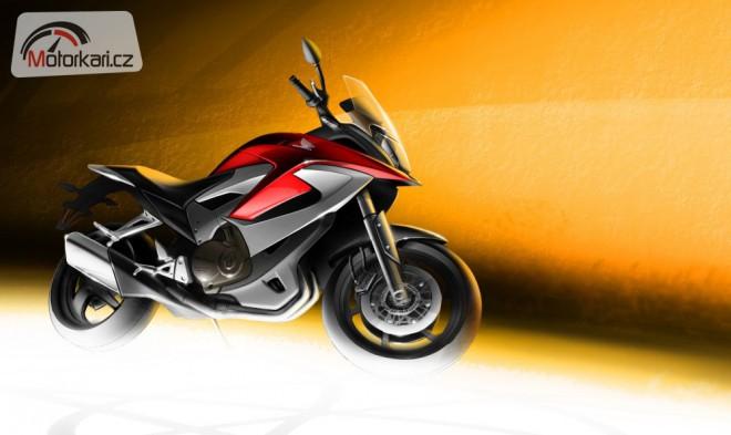 Honda odhalila podobu crossoveru VFR800X!