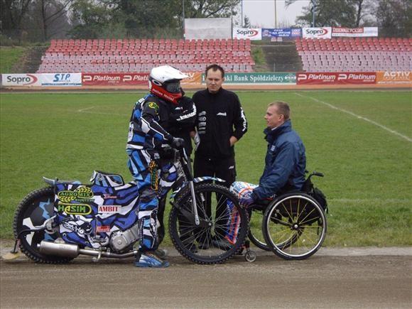 Cegielski se po tìžkém úraze vrací do Grand Prix