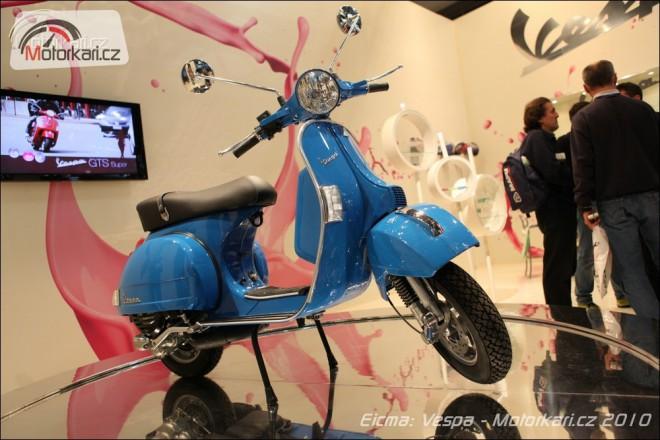 Eicma 2010: Piaggio, Vespa