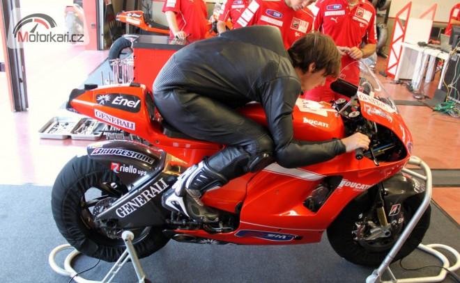 Abaja je pøipraven na první testy MotoGP