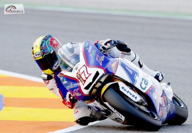 Grand Prix Valencie - Abraham první!